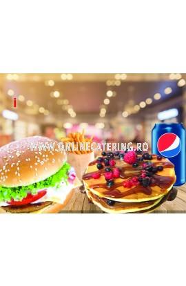 Meniu Burger American de pui